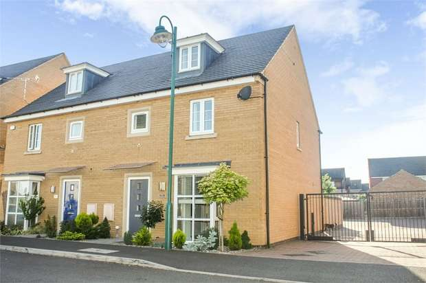 4 Bedrooms Semi Detached House for sale in Wayside Crescent, Hampton Vale, Peterborough, Cambridgeshire