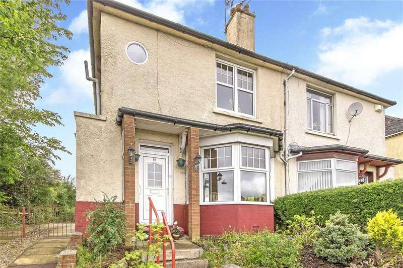 2 Bedrooms Semi Detached House for sale in 85 Baldwin Avenue, Knightswood, Glasgow, G13