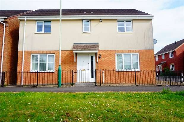 4 Bedrooms Detached House for sale in Golwg Y Bont, BLACKWOOD, Caerphilly