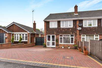 3 Bedrooms Semi Detached House for sale in St Leonards View, Polesworth, Tamworth, Warwickshire