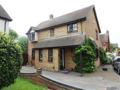 4 Bedrooms Detached House for sale in Noak Bridge, Essex