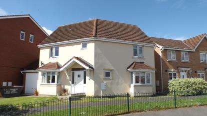 3 Bedrooms Detached House for sale in Beecher Stowe Drive, Brough With St. Giles, Catterick Garrison, North Yorkshire