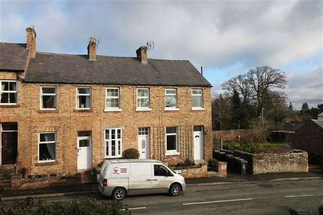 2 Bedrooms Terraced House for sale in Pleasant View, Wetheral, Carlisle, Cumbria, CA4 8JF