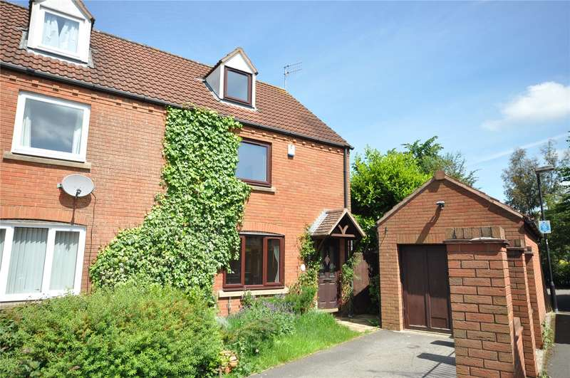 3 Bedrooms Semi Detached House for sale in Arley Close, Abbey Meads, Swindon, Wiltshire, SN25