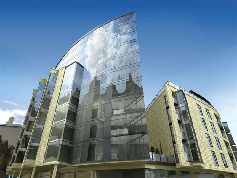 2 Bedrooms Flat for sale in The Gatehaus, Bradford, BD1 5BQ