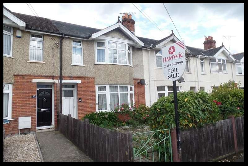 3 Bedrooms Terraced House for sale in Downs Park Road, Eling, Totton, Southampton SO40