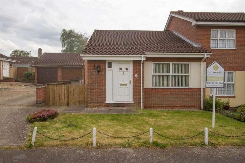2 Bedrooms Semi Detached Bungalow for sale in Millway, Wymondham, Norfolk