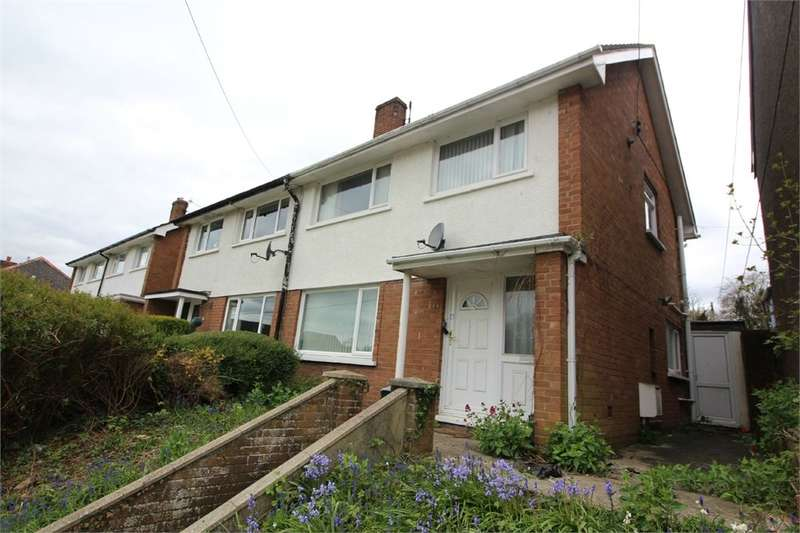 3 Bedrooms Semi Detached House for sale in Ross Road, ABERGAVENNY, Monmouthshire, NP7