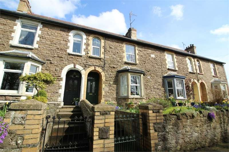 3 Bedrooms Terraced House for sale in Raglan Terrace, Abergavenny, NP7