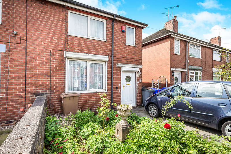2 Bedrooms Semi Detached House for sale in George Avenue, Meir, Stoke-On-Trent, ST3