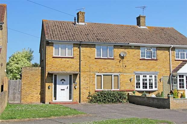 3 Bedrooms Semi Detached House for sale in Kent Avenue, SITTINGBOURNE, Kent