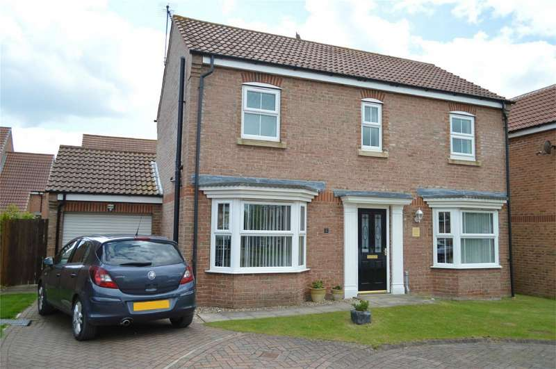 3 Bedrooms Detached House for sale in 12 Cygnet Close, Hornsea, East Riding of Yorkshire