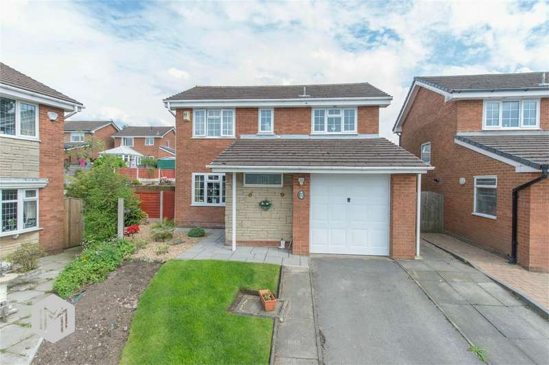 4 Bedrooms Detached House for sale in Croyde Close, Harwood, Bolton, Lancashire