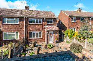 3 Bedrooms Semi Detached House for sale in Hermitage Road, Higham, Rochester, Kent