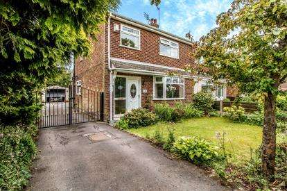 3 Bedrooms Semi Detached House for sale in Warrington Road, Risley, Warrington, Cheshire