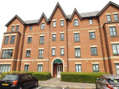 2 Bedrooms Flat for sale in Hadfield Close, Manchester, Greater Manchester, Uk