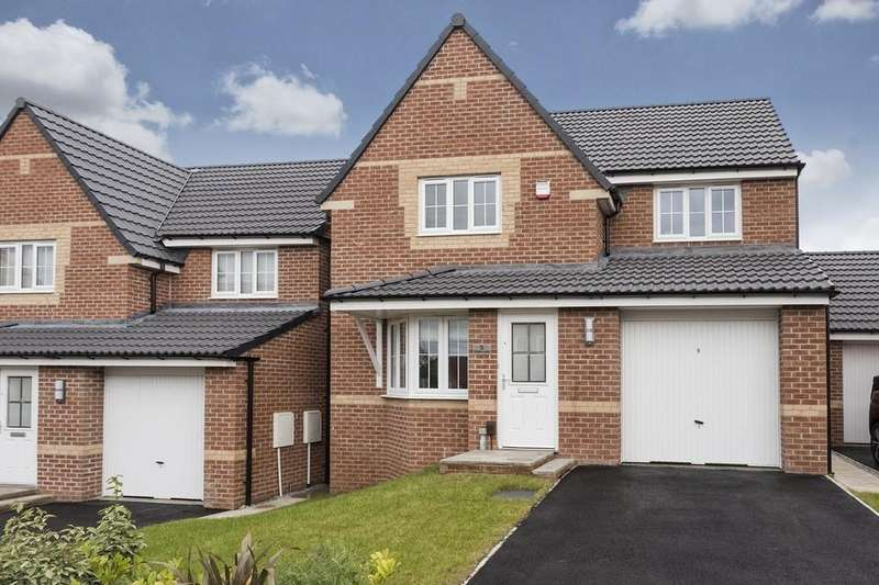 3 Bedrooms Detached House for sale in Dempsey Close, Wakefield