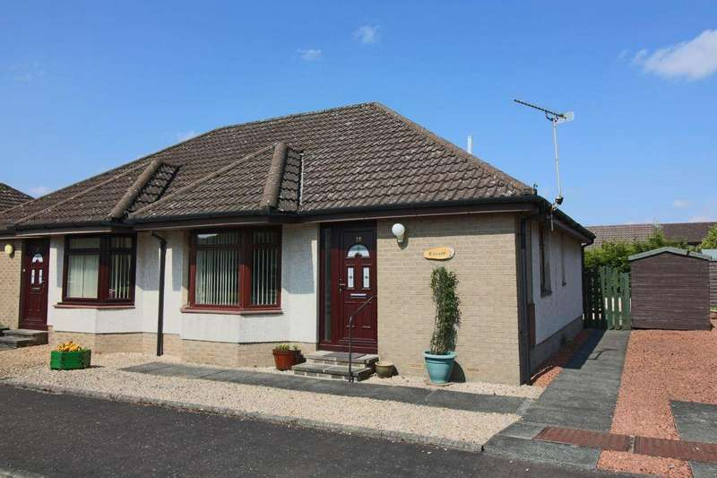 2 Bedrooms Semi Detached Bungalow for sale in Abbot Road, Stirling, FK7 7UG
