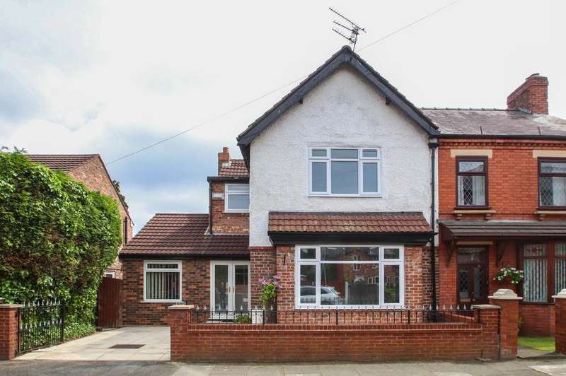 3 Bedrooms Semi Detached House for sale in Gilpin Road, Urmston, Manchester, M41