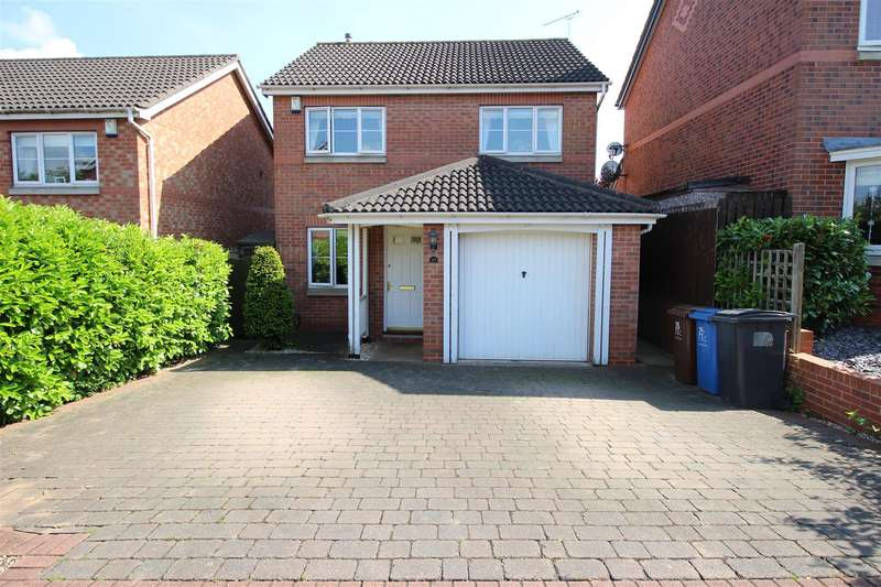 3 Bedrooms Detached House for sale in Kilverston Road, Sandiacre