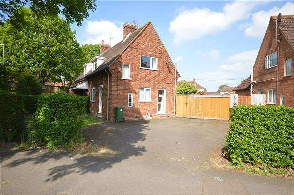 2 Bedrooms Semi Detached House for sale in WESTFIELDS ROAD, CORBY