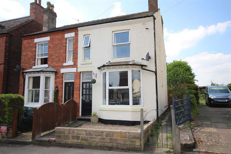 2 Bedrooms Semi Detached House for sale in Newdigate Street, West Hallam