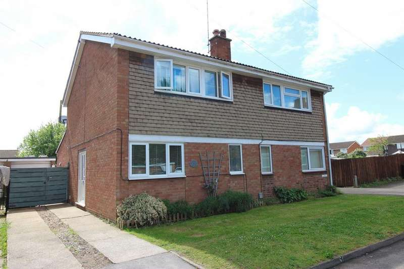 3 Bedrooms Semi Detached House for sale in Miles Drive, Clifton, Shefford, Bedfordshire