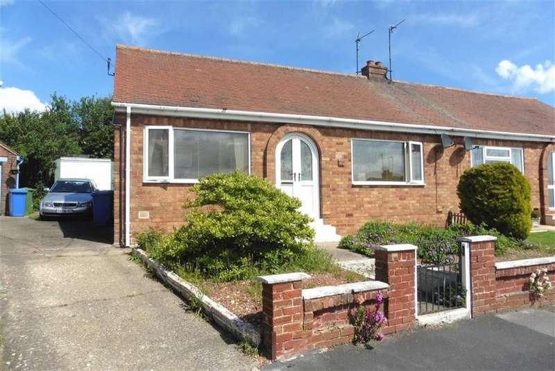 2 Bedrooms Semi Detached Bungalow for sale in Bempton Oval, Bridlington, East Yorkshire