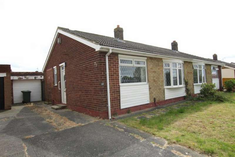 1 Bedroom Semi Detached Bungalow for sale in Seymour Grove, Eaglescliffe, Stockton-on-tees