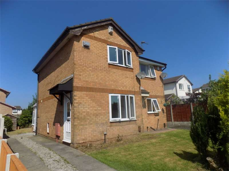 2 Bedrooms Semi Detached House for sale in Wharfedale, Westhoughton, Bolton, Lancashire