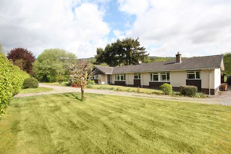 5 Bedrooms Bungalow for sale in Kilmahog, Callander, Falkirk, FK17 8HD