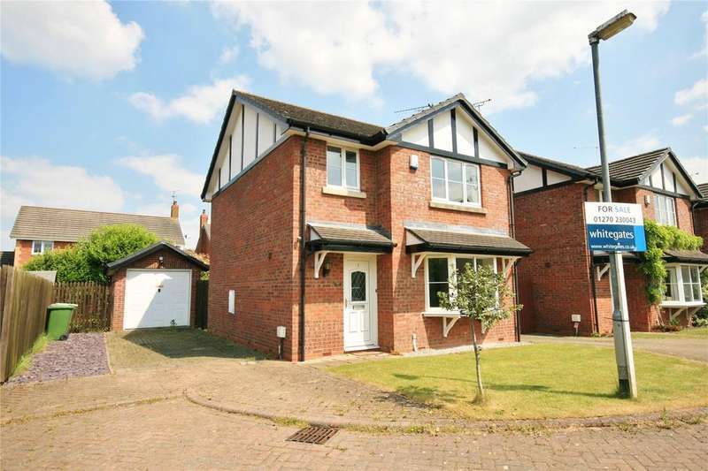 3 Bedrooms Detached House for sale in Gowy Court, Calveley, Tarporley, Cheshire, CW6