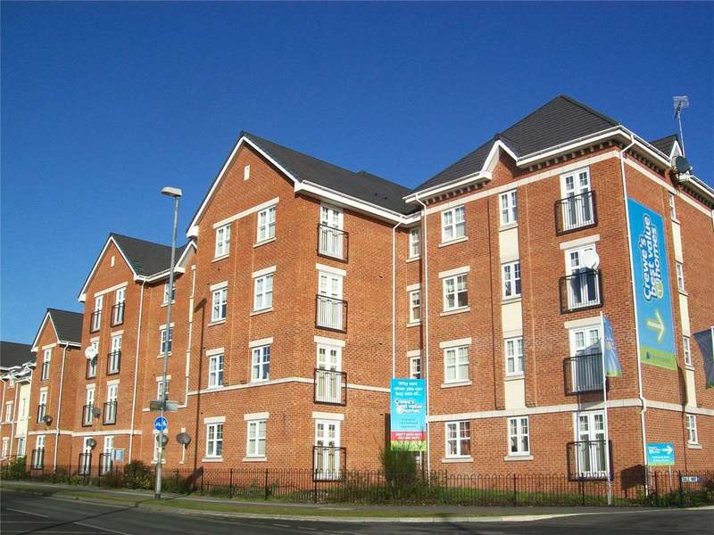 1 Bedroom Apartment Flat for sale in Junction House, Dale Way, Crewe, Cheshire, CW1