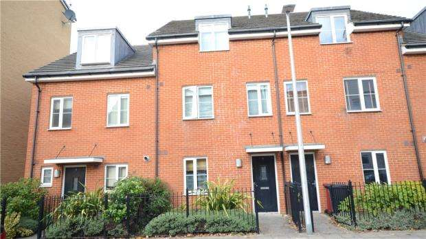 4 Bedrooms Terraced House for sale in Gweal Avenue, Reading, Berkshire