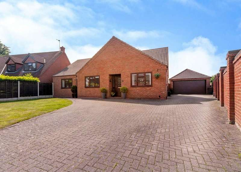 3 Bedrooms Detached Bungalow for sale in Sawley Road, Draycott