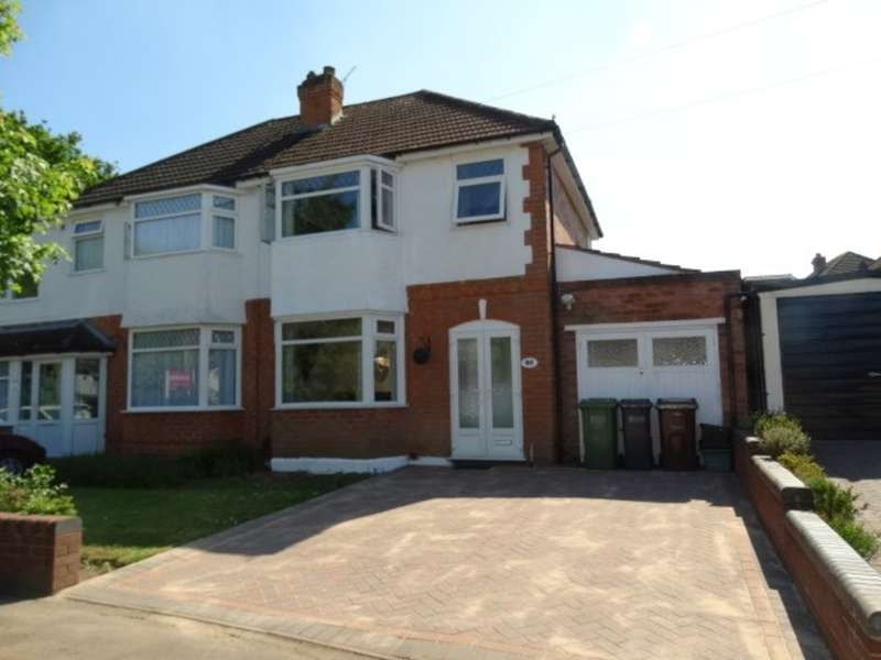 3 Bedrooms Semi Detached House for sale in Rangoon Road, Solihull