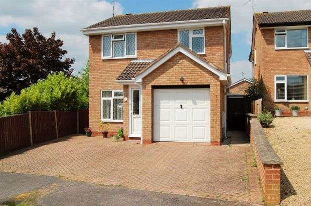 3 Bedrooms Detached House for sale in Somerville Road, Stefan Hill, Daventry NN11 4RT