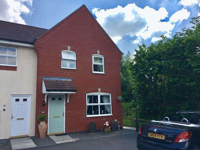 3 Bedrooms Semi Detached House for sale in Essex Drive, Church Gresley