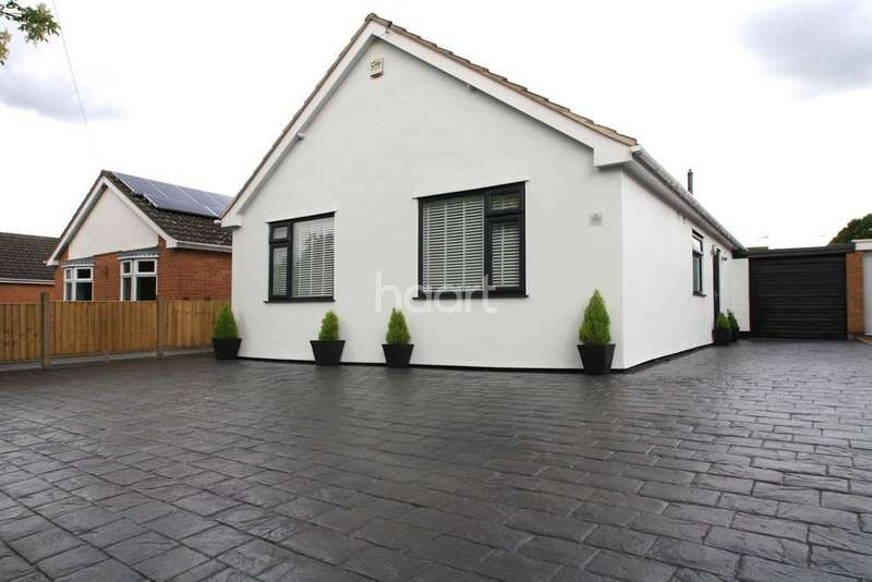 4 Bedrooms Bungalow for sale in Westfield Avenue, Countesthorpe, Leicester