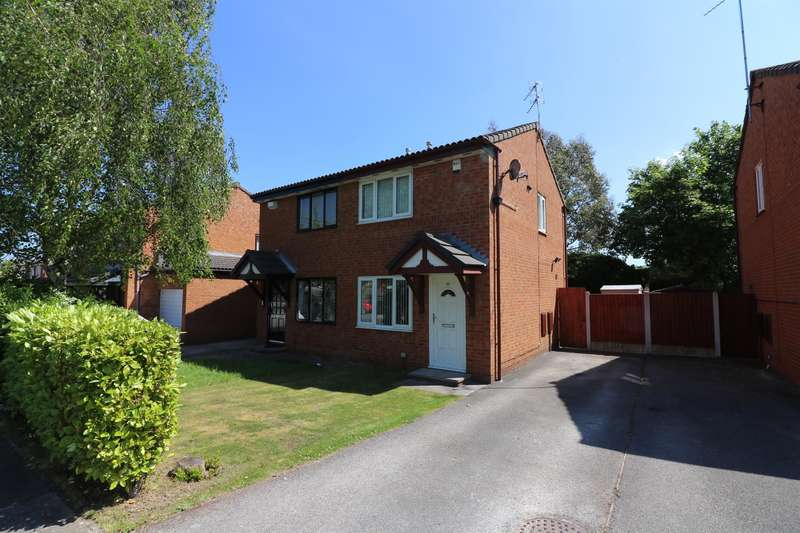 2 Bedrooms Semi Detached House for sale in Butterton Avenue, Wirral, CH49 4RA