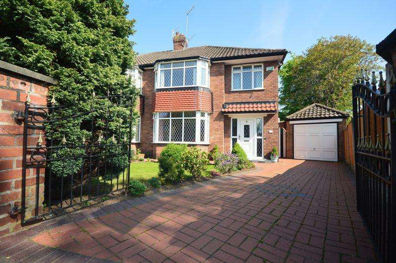 3 Bedrooms Semi Detached House for sale in Booker Avenue, Calderstones