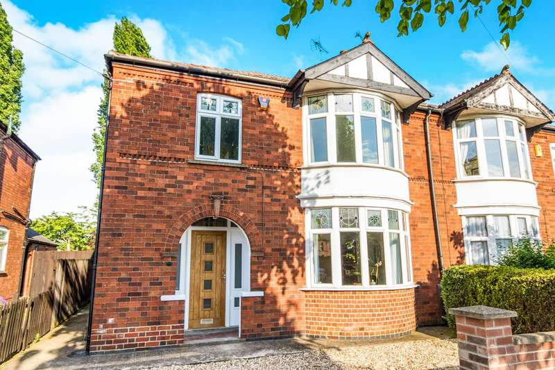 3 Bedrooms Semi Detached House for sale in Southend Avenue, Newark, NG24