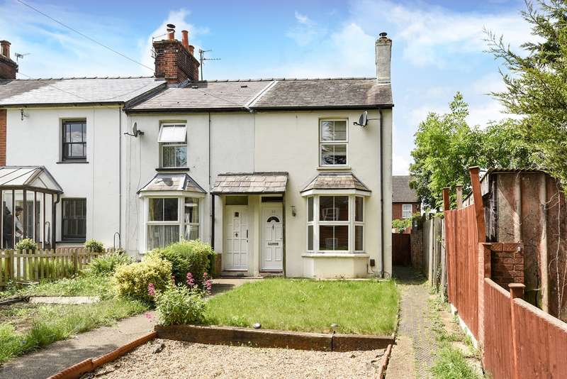 2 Bedrooms End Of Terrace House for sale in Garden Row, Hitchin, SG5