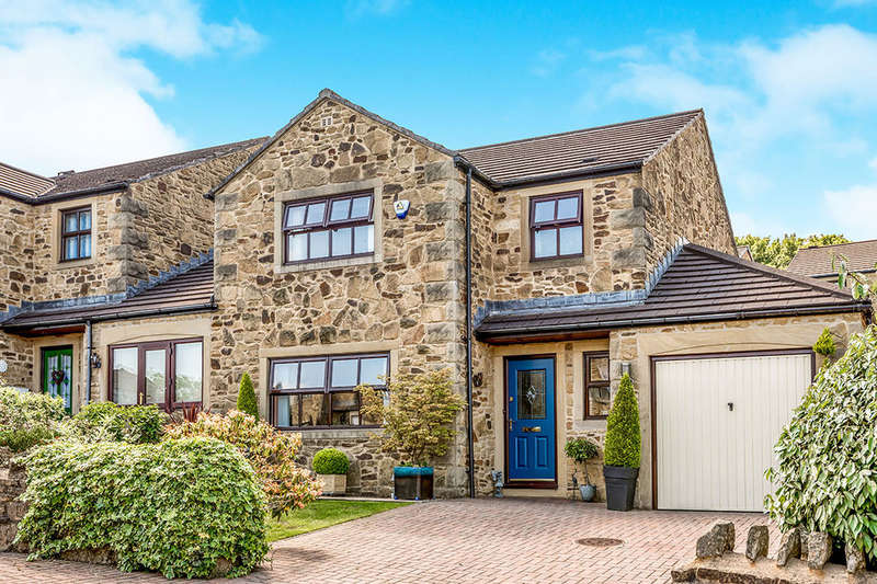 3 Bedrooms Detached House for sale in Bamlett Brow, Haworth, Keighley, BD22