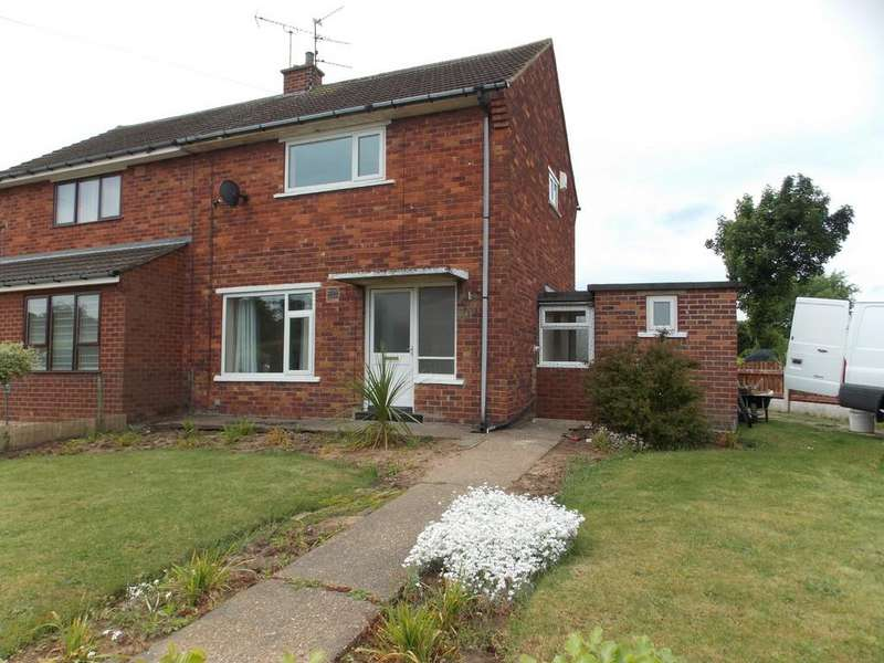 2 Bedrooms Semi Detached House for sale in Acacia Road, Cantley