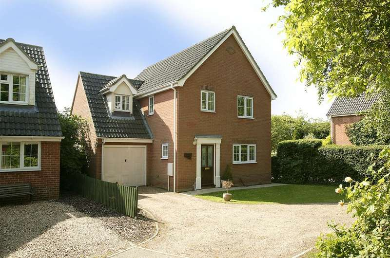 4 Bedrooms Detached House for sale in Norwich Road, Barnham Broom