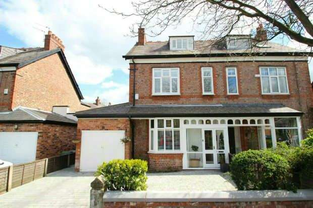 4 Bedrooms Semi Detached House for sale in Westwood Avenue, Timperley