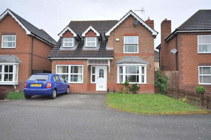 4 Bedrooms Detached House for sale in Newbury Road, Newark
