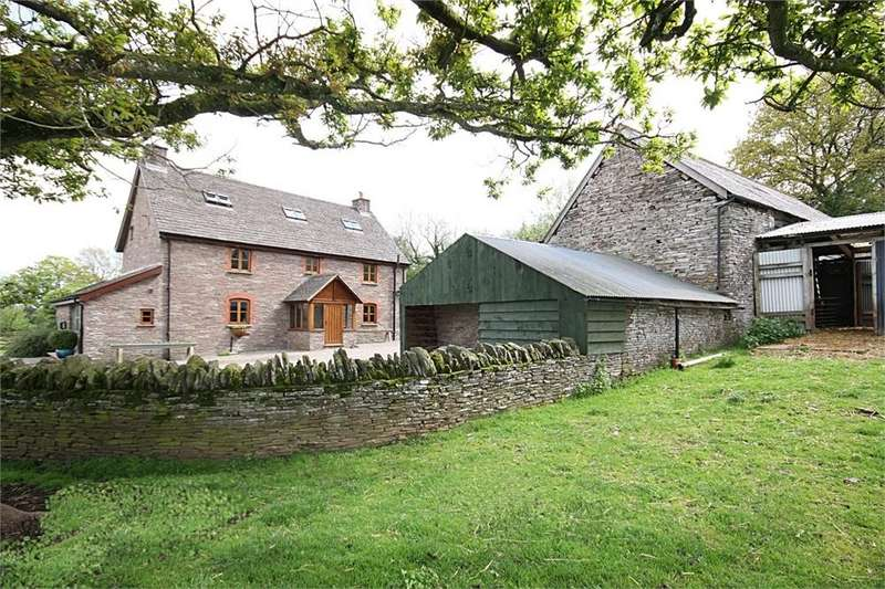 5 Bedrooms Detached House for sale in Michaelchurch Escley, Herefordshire