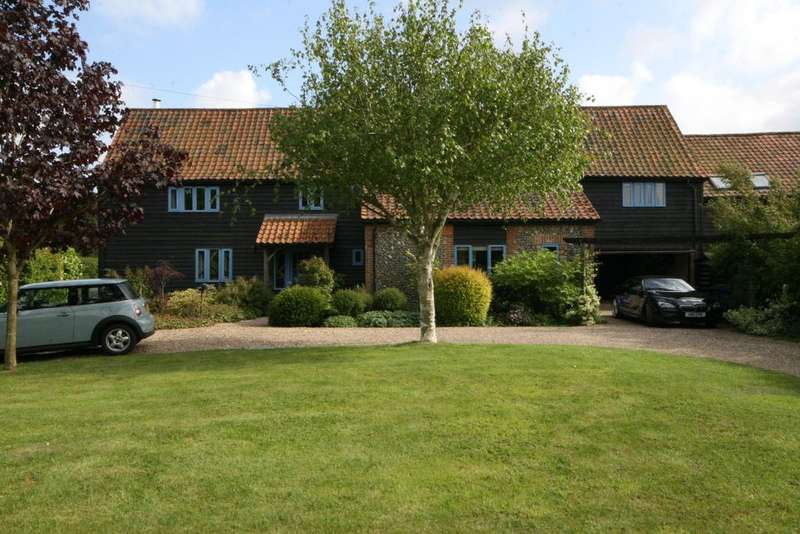 5 Bedrooms Barn Conversion Character Property for sale in The Street, Hepworth, Diss IP22